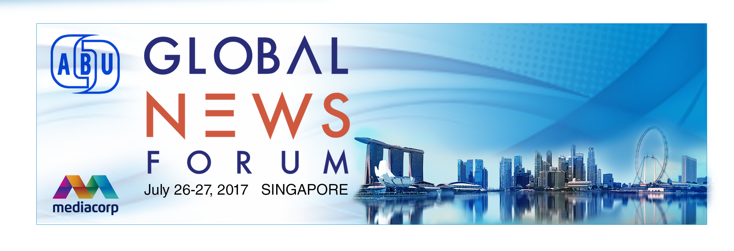 Global News Forum 2017 Singapore - Logo.